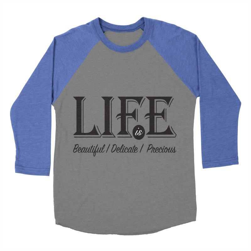Life Women's Baseball Triblend T-Shirt by Mrc's Artist Shop