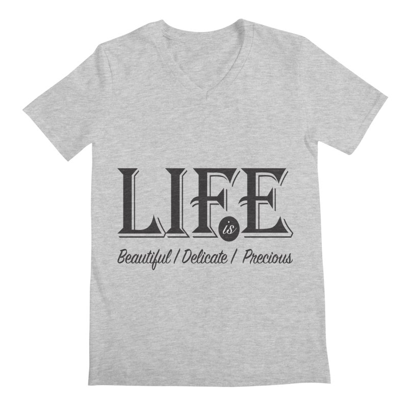 Life Men's V-Neck by Mrc's Artist Shop