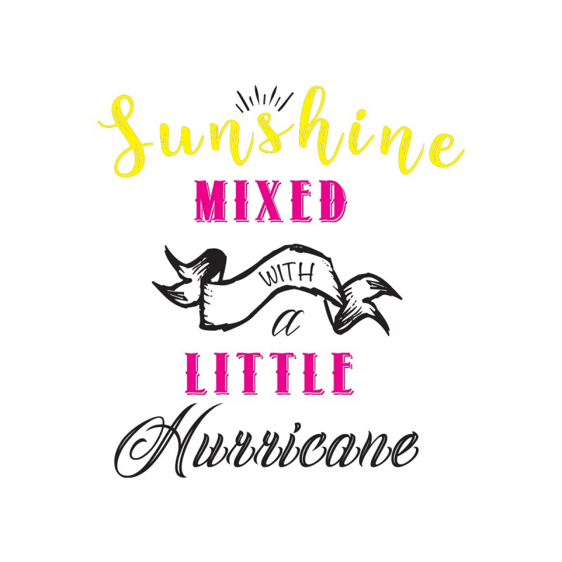 Sunshine Mixed with a Little Hurricane Men's T-Shirt by Mrc's Artist Shop