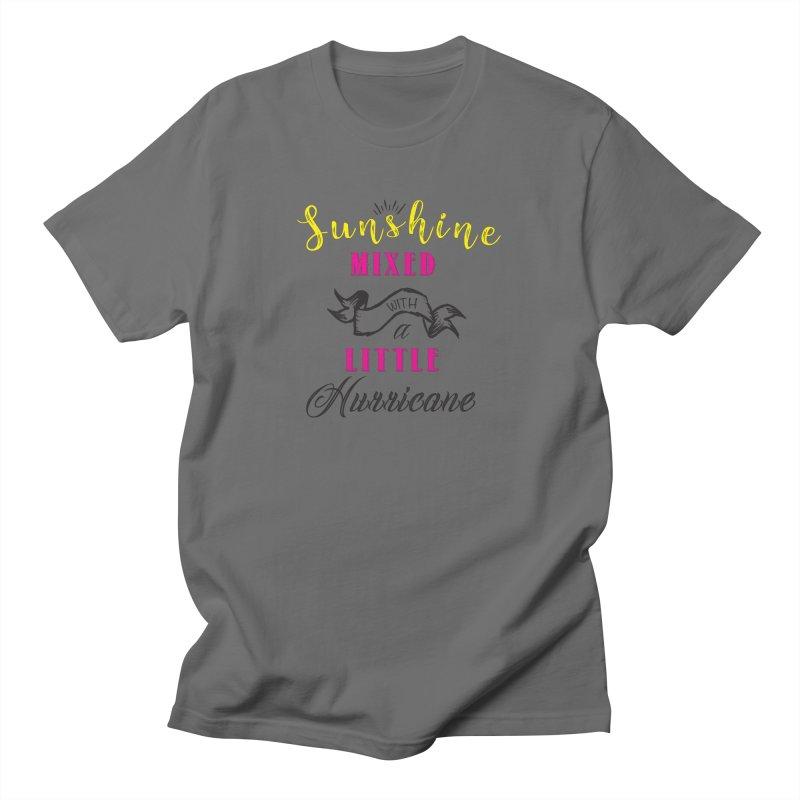 Sunshine Mixed with a Little Hurricane Women's T-Shirt by Mrc's Artist Shop