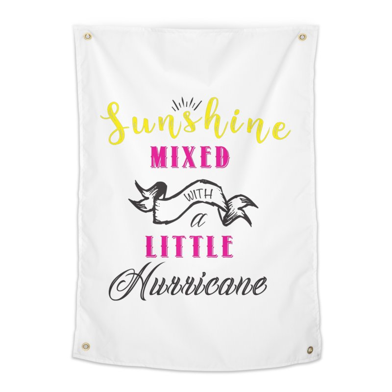 Sunshine Mixed with a Little Hurricane Home Tapestry by Mrc's Artist Shop