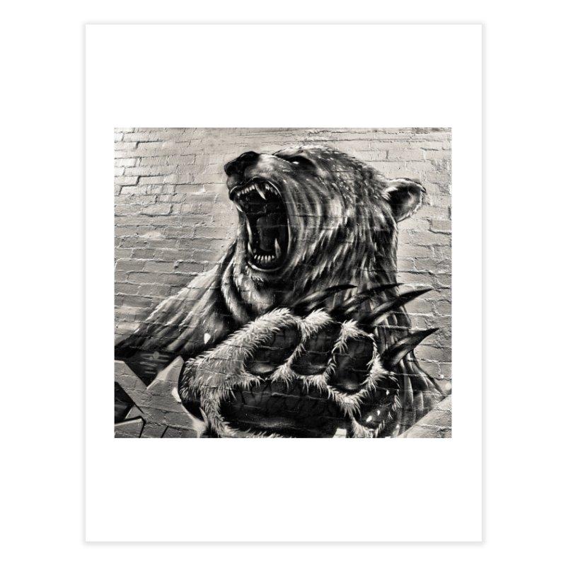 Bear  Home Fine Art Print by Mrc's Artist Shop
