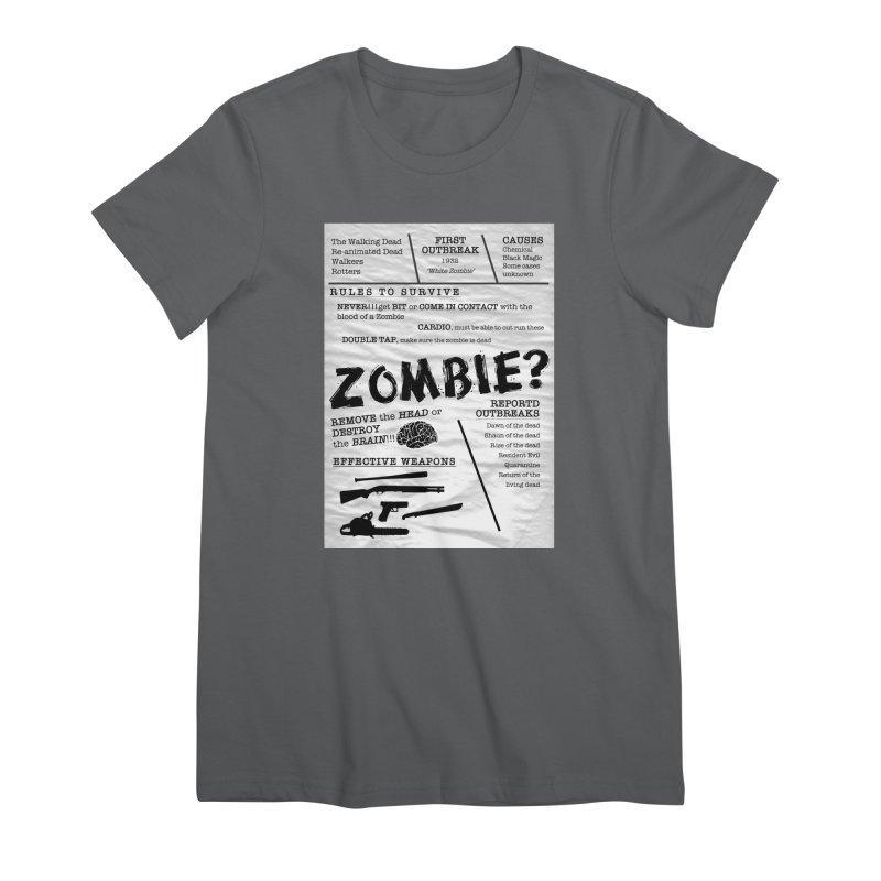 Zombie? Women's T-Shirt by Mrc's Artist Shop