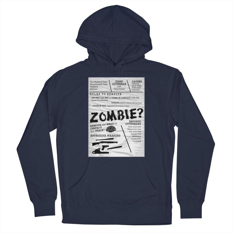Zombie? Women's Pullover Hoody by Mrc's Artist Shop