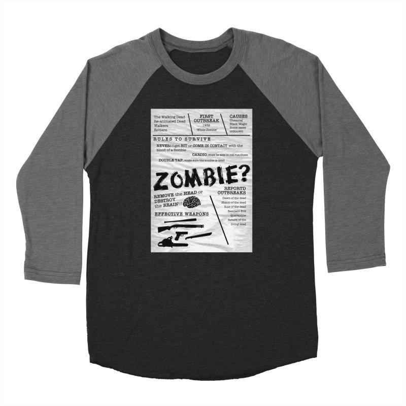Zombie? Women's Longsleeve T-Shirt by Mrc's Artist Shop