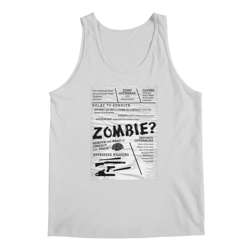 Zombie? Men's Regular Tank by Mrc's Artist Shop