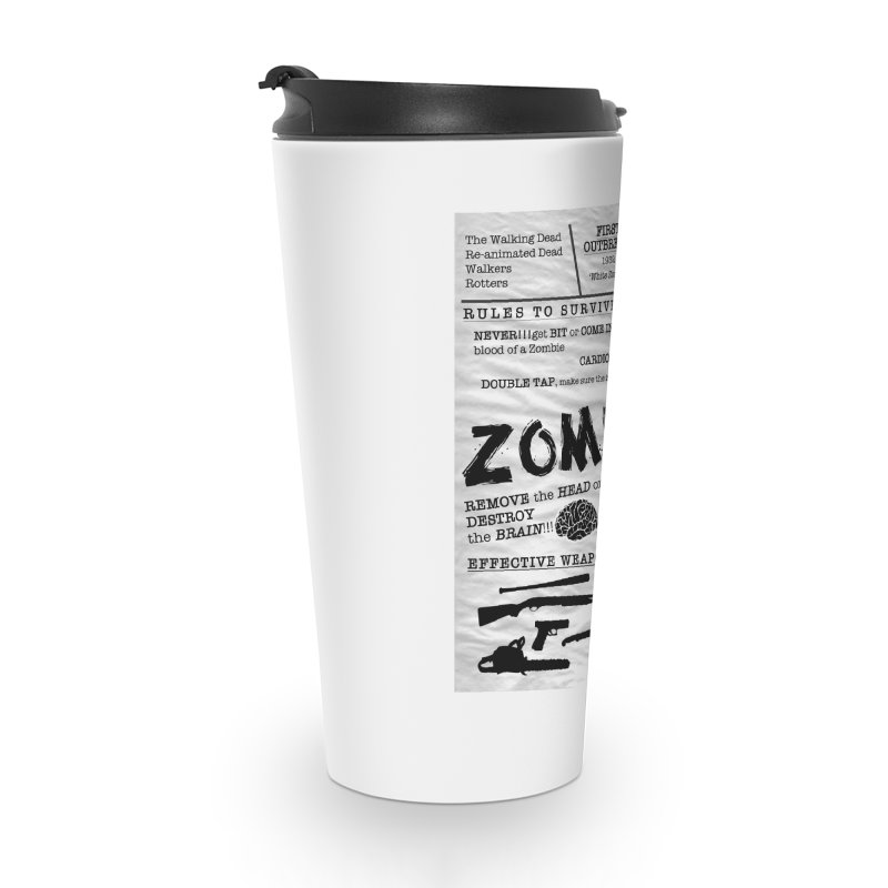 Zombie? Accessories Travel Mug by Mrc's Artist Shop