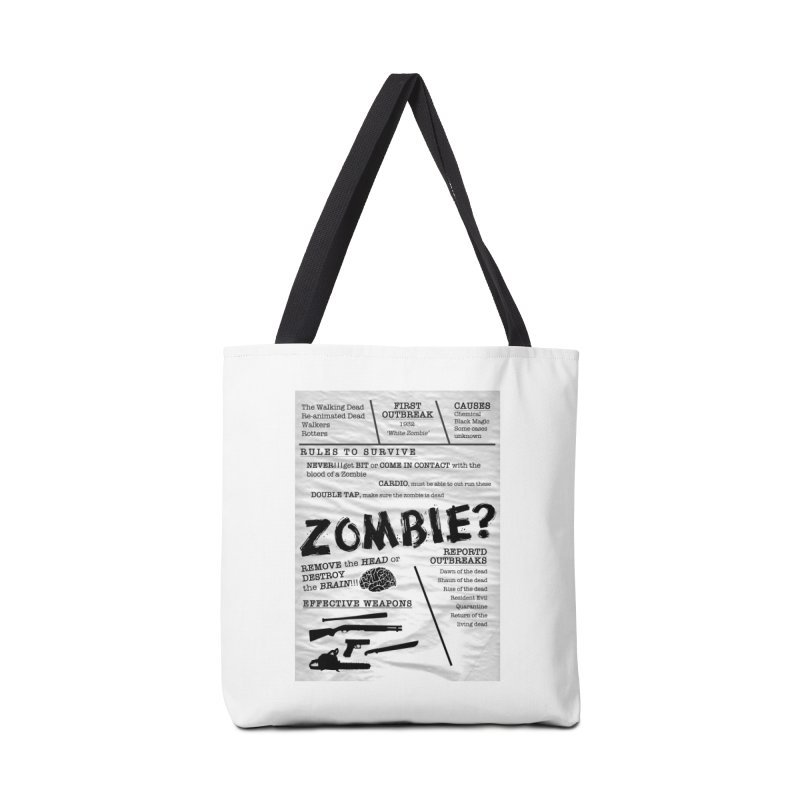 Zombie? Accessories Bag by Mrc's Artist Shop