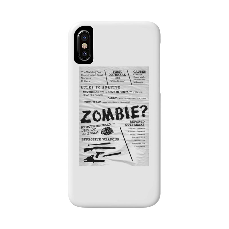 Zombie? Accessories Phone Case by Mrc's Artist Shop