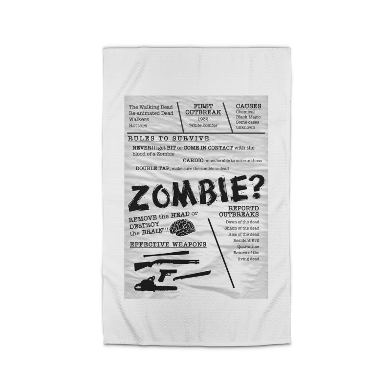 Zombie? Home Rug by Mrc's Artist Shop
