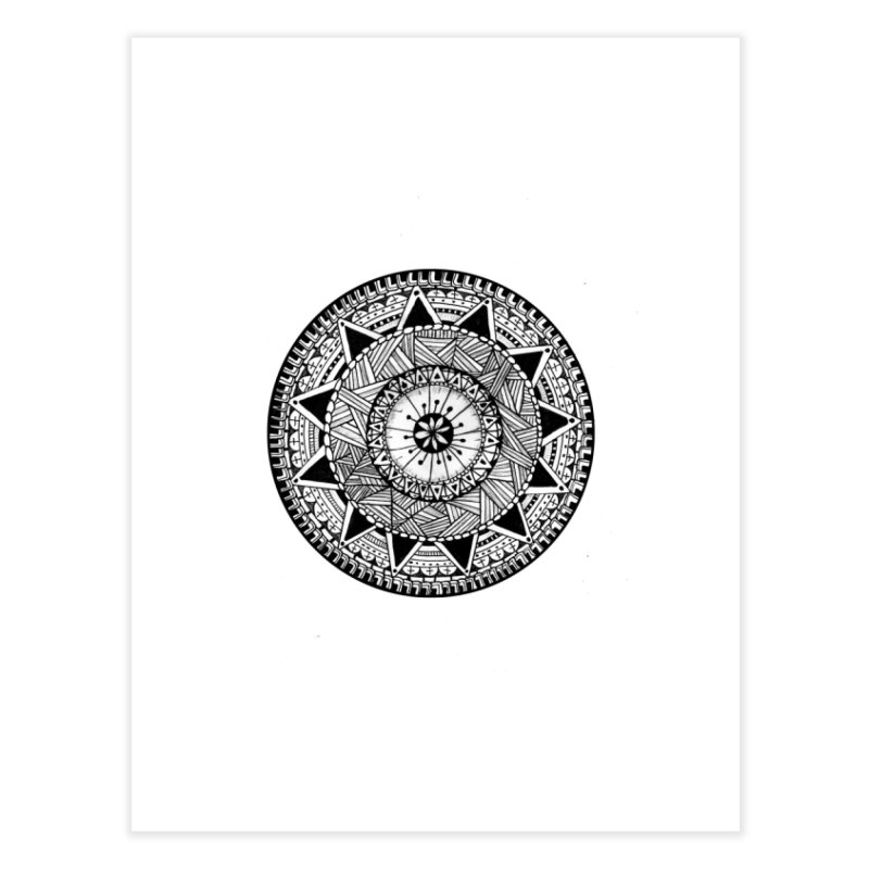 Hand Drawn Mandala Home  by Mrc's Artist Shop