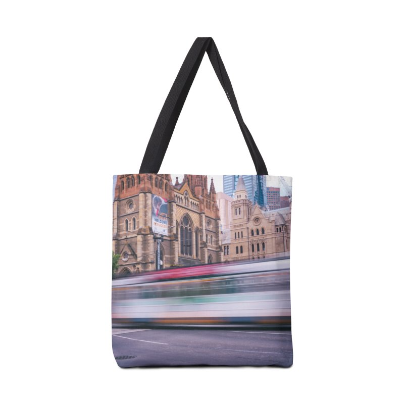 Trams in Melbourne Accessories Bag by Mrc's Artist Shop