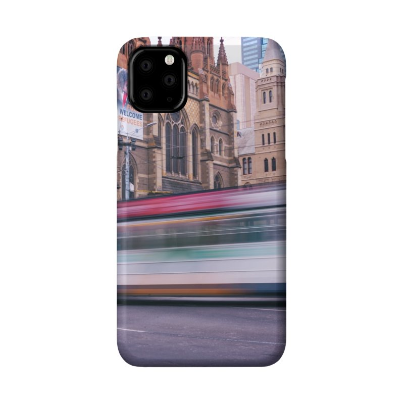 Trams in Melbourne Accessories Phone Case by Mrc's Artist Shop