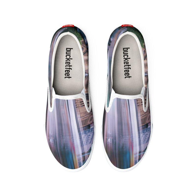 Trams in Melbourne Women's Shoes by Mrc's Artist Shop