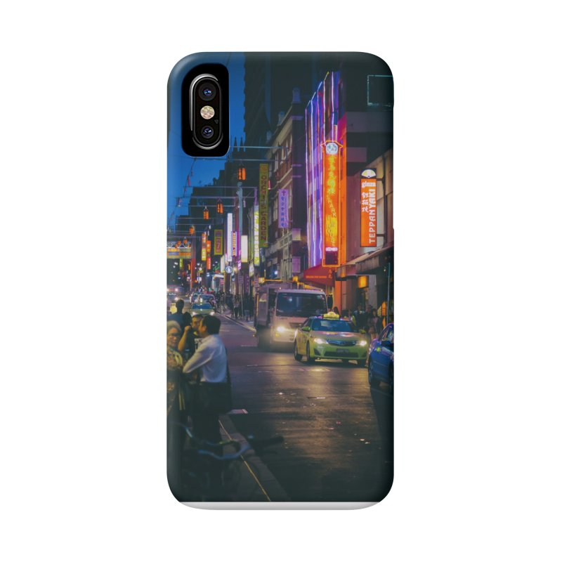 Chinatown Night Scene Accessories Phone Case by Mrc's Artist Shop