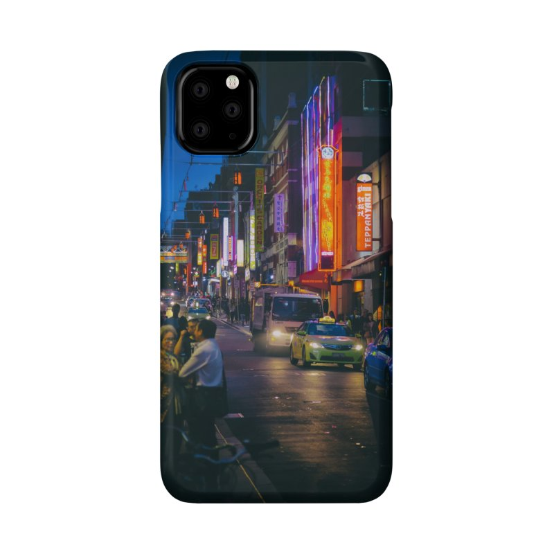Chinatown Night Scene Accessories Phone Case by Mrc's Artist Shop