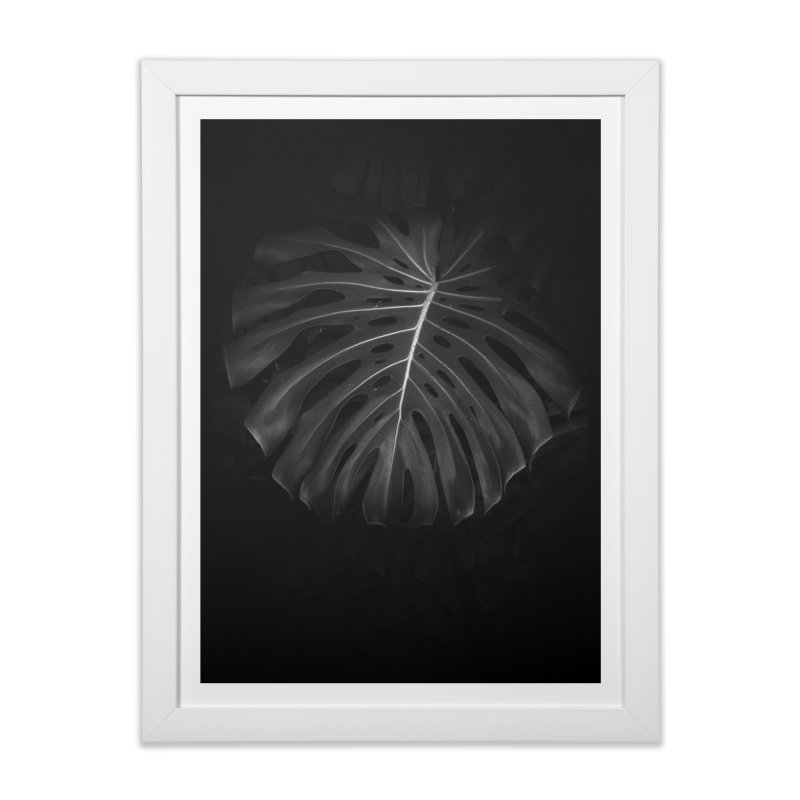 Branch in Framed Fine Art Print White by Mrc's Artist Shop