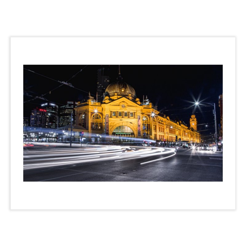 Melbourne Icon Home Fine Art Print by Mrc's Artist Shop