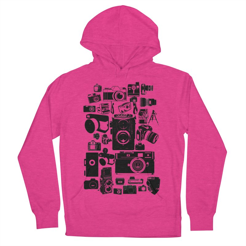 Cameras Men's French Terry Pullover Hoody by Mrc's Artist Shop