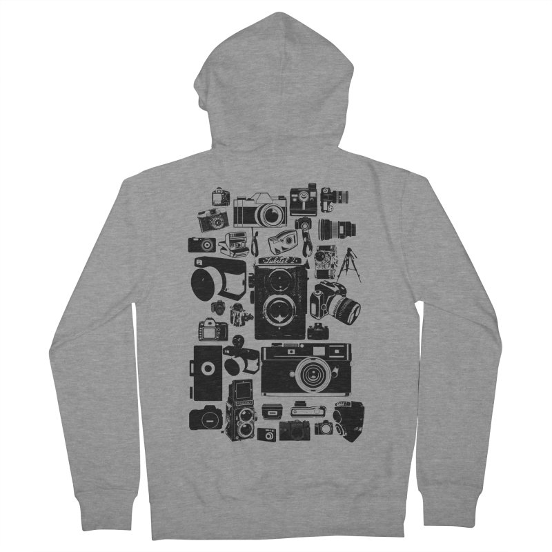 Cameras Men's Zip-Up Hoody by Mrc's Artist Shop