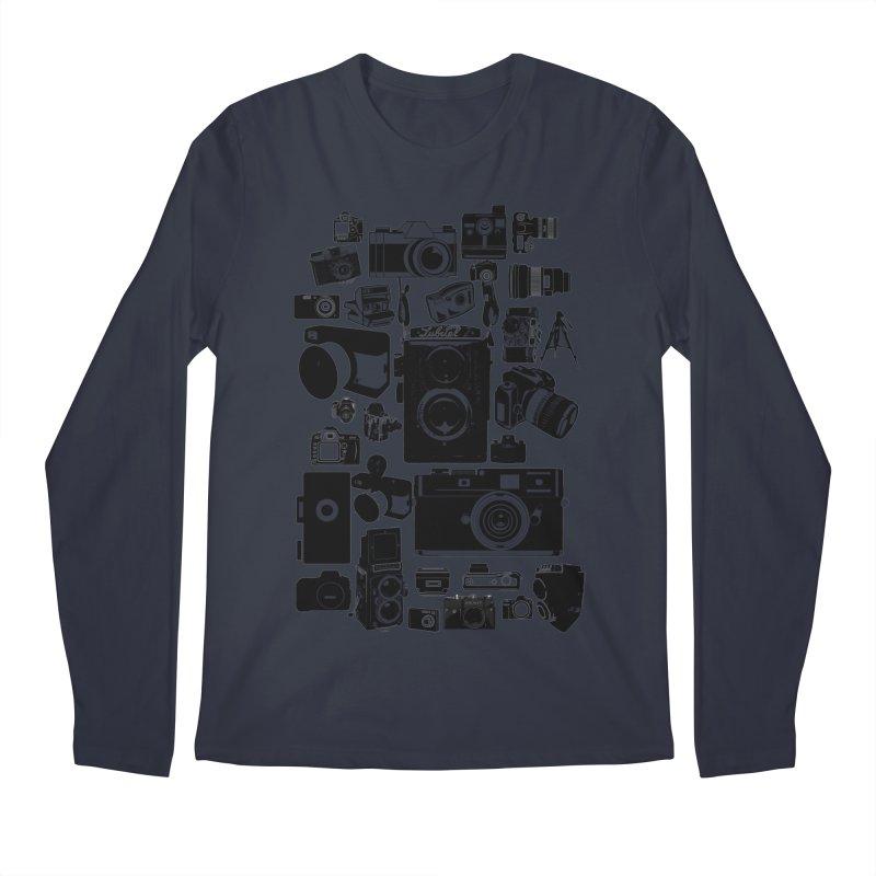 Cameras Men's Longsleeve T-Shirt by Mrc's Artist Shop