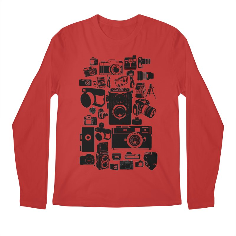 Cameras Men's Regular Longsleeve T-Shirt by Mrc's Artist Shop