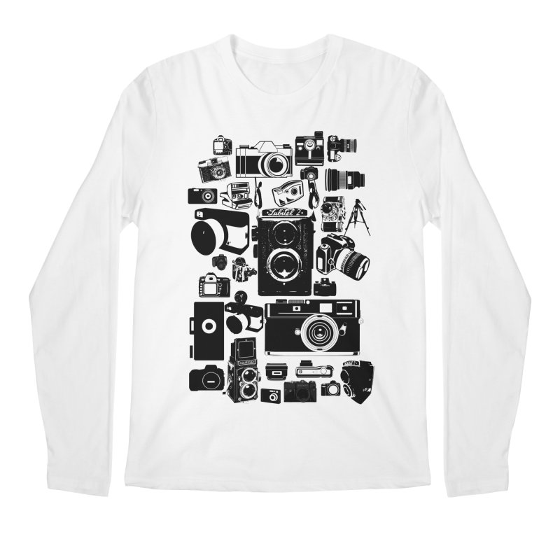 Cameras Men's Longsleeve T-Shirt by Mrc's Artist Shop