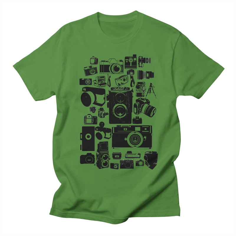 Cameras Men's T-shirt by Mrc's Artist Shop