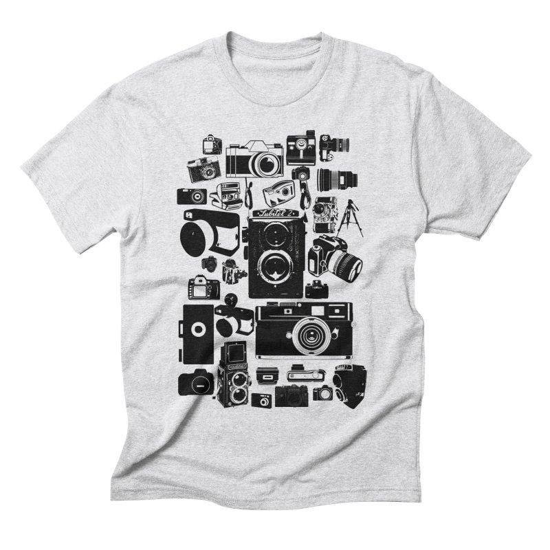 Cameras Men's Triblend T-Shirt by Mrc's Artist Shop