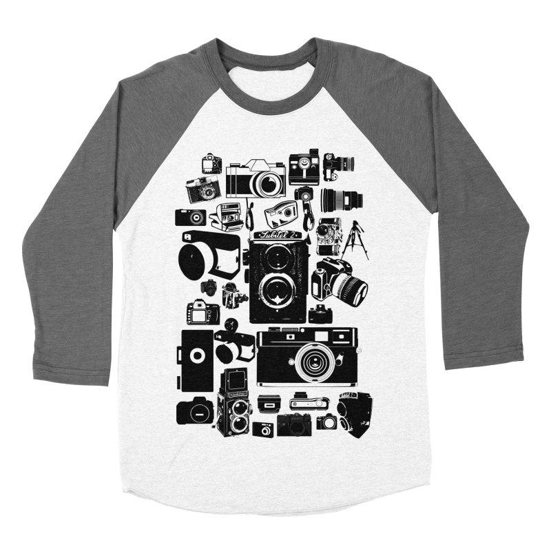 Cameras Men's Baseball Triblend T-Shirt by Mrc's Artist Shop