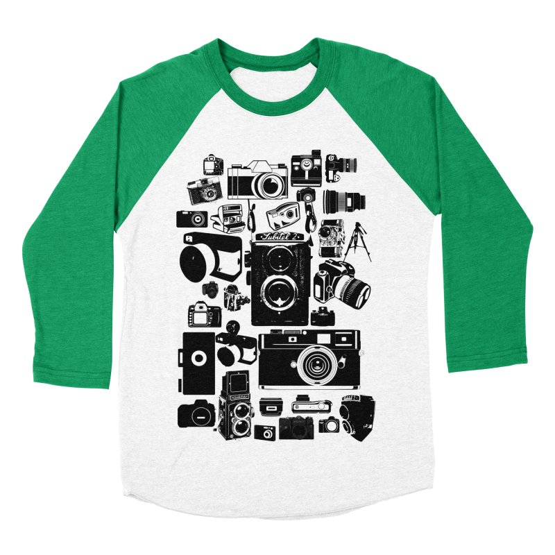 Cameras Men's Baseball Triblend T-Shirt by Mrc's Artist Shop