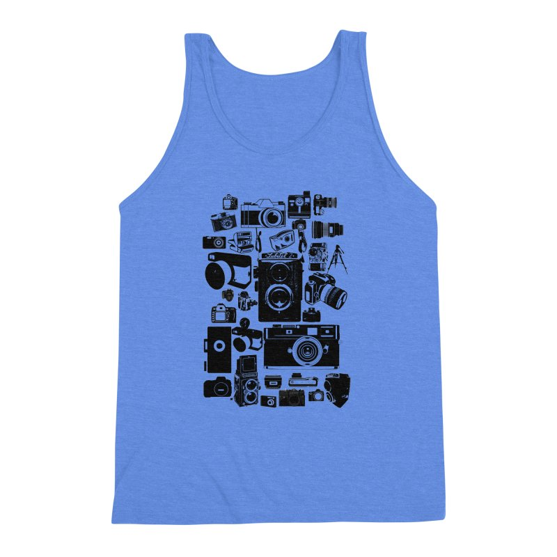 Cameras Men's Triblend Tank by Mrc's Artist Shop