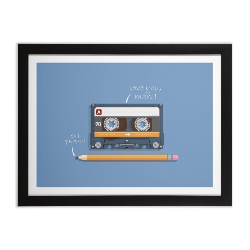 Cassette and Pencil   by Mrc's Artist Shop
