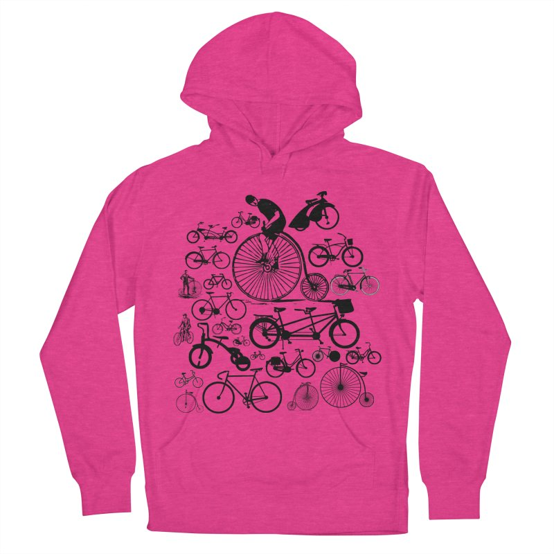 Bicycles Men's Pullover Hoody by Mrc's Artist Shop