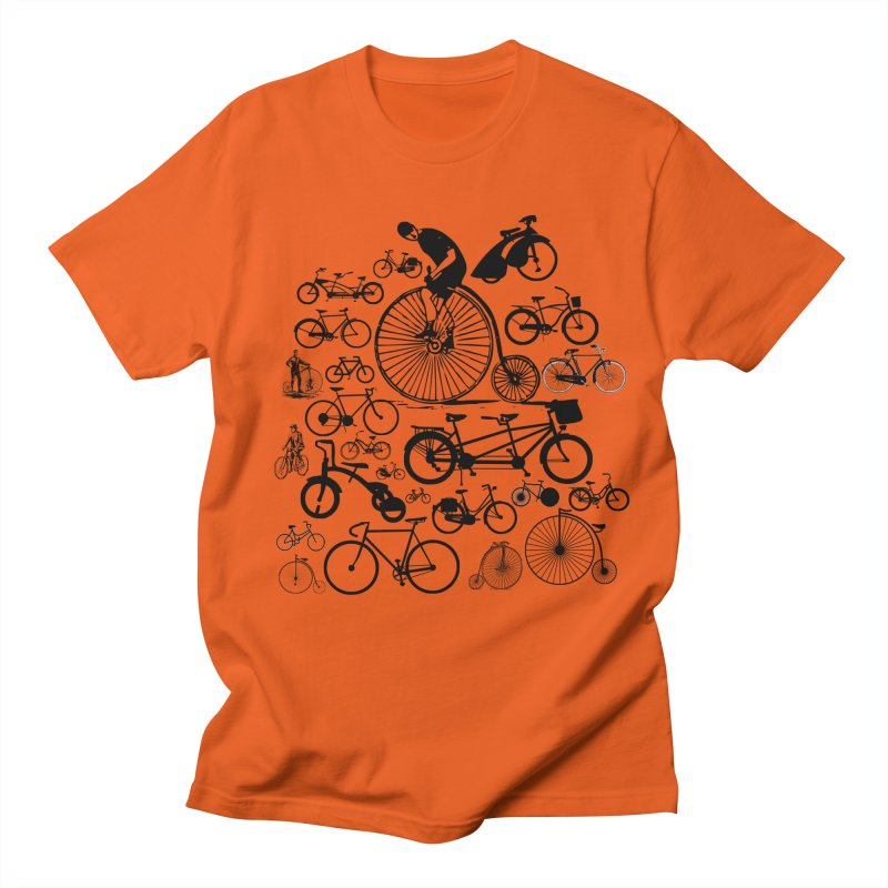 Bicycles Men's T-shirt by Mrc's Artist Shop
