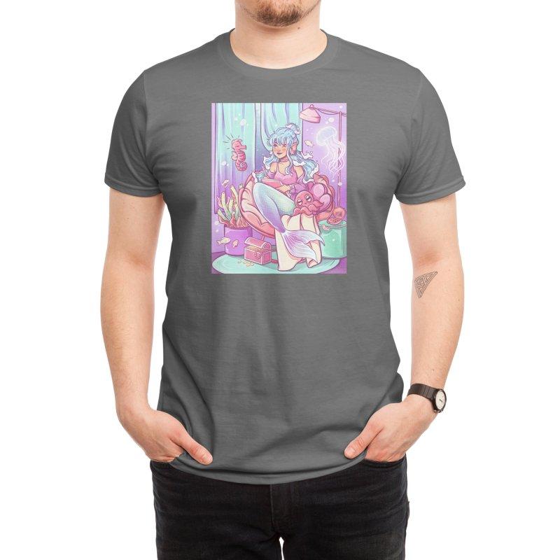Mermaid Bedroom Men's T-Shirt by Mrsbutterd's Artist Shop