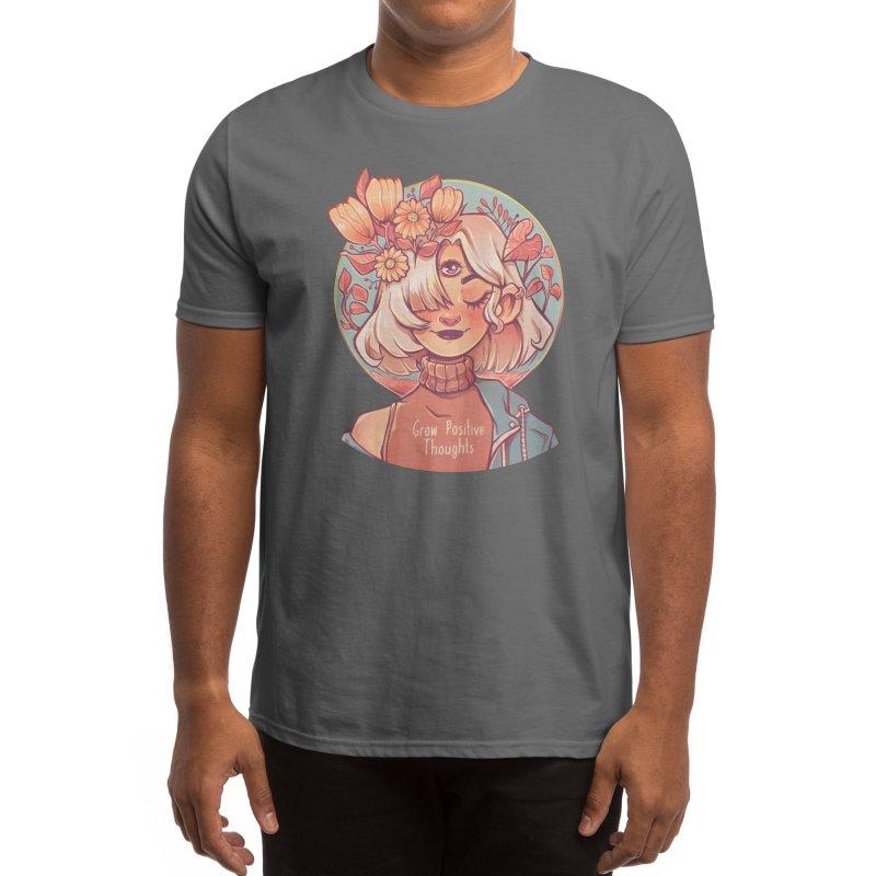 Grow positive thoughts Men's T-Shirt by Mrsbutterd's Artist Shop
