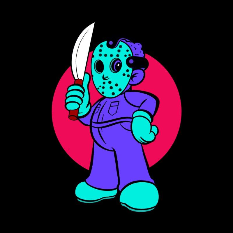 Jason thumbs up 8-bit Men's T-Shirt by MuertosLopez Everlasting Artist Shop