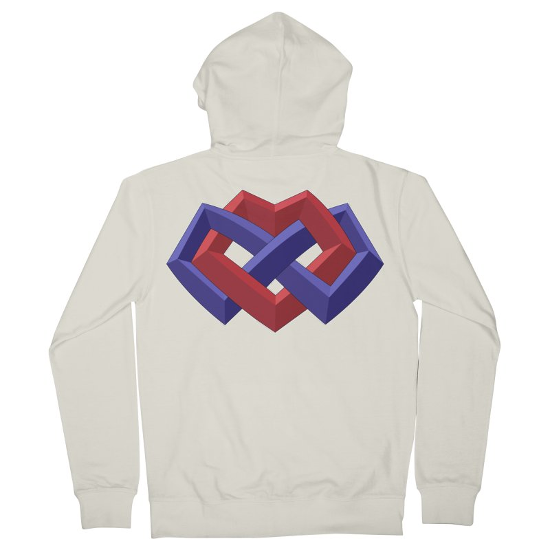 Multiamory Shield Apparel Men's French Terry Zip-Up Hoody by Multiamory's Shop