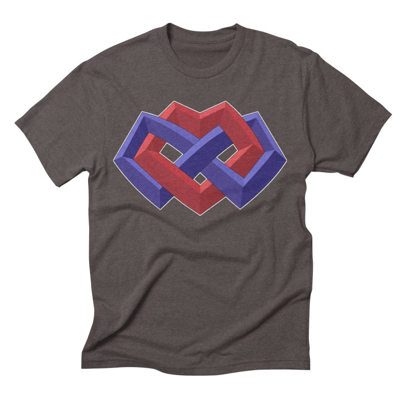 Multiamory Shield Apparel Men's Triblend T-Shirt by Multiamory's Shop