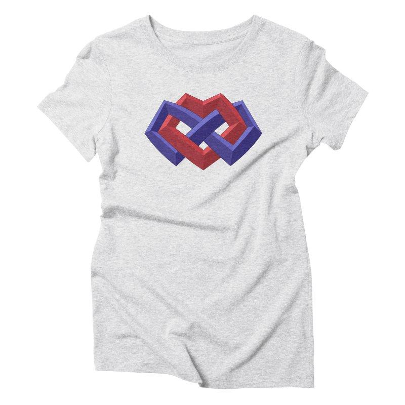 Multiamory Shield Apparel Women's Triblend T-Shirt by Multiamory's Shop