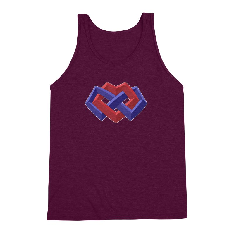 Multiamory Shield Apparel Men's Triblend Tank by Multiamory's Shop