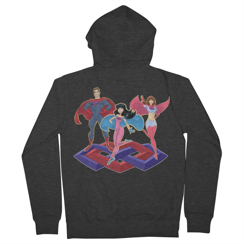 The Super Multis Apparel Women's French Terry Zip-Up Hoody by Multiamory's Shop