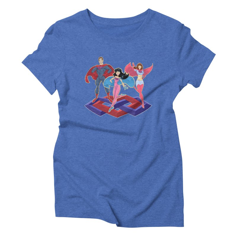 The Super Multis Apparel Women's Triblend T-Shirt by Multiamory's Shop