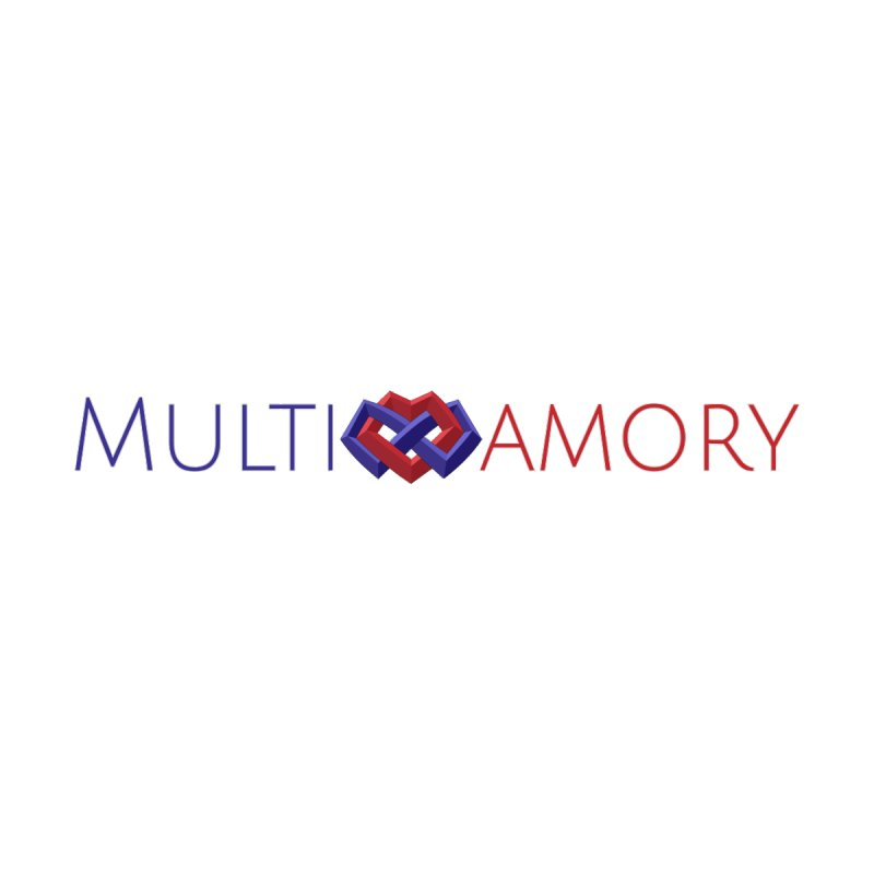 Multiamory Name (Red and Purple) by Multiamory's Shop