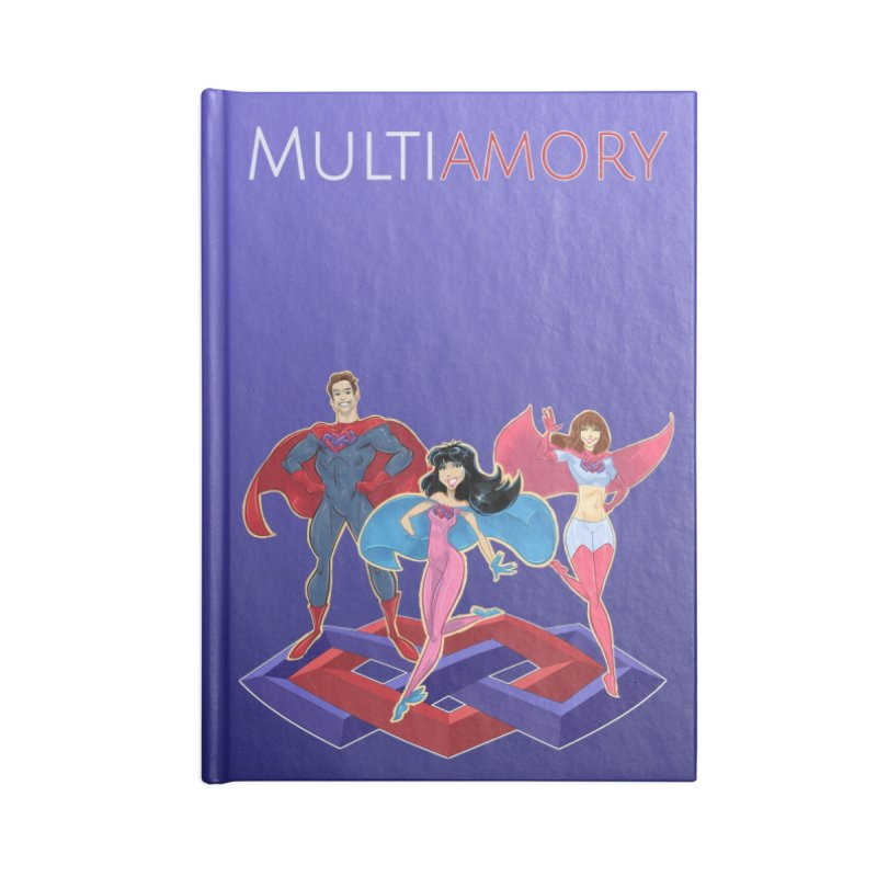 Multiamory Accessories Accessories Blank Journal Notebook by Multiamory's Shop