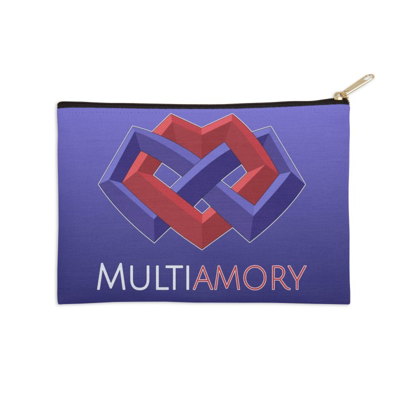 Multiamory Accessories Accessories Zip Pouch by Multiamory's Shop