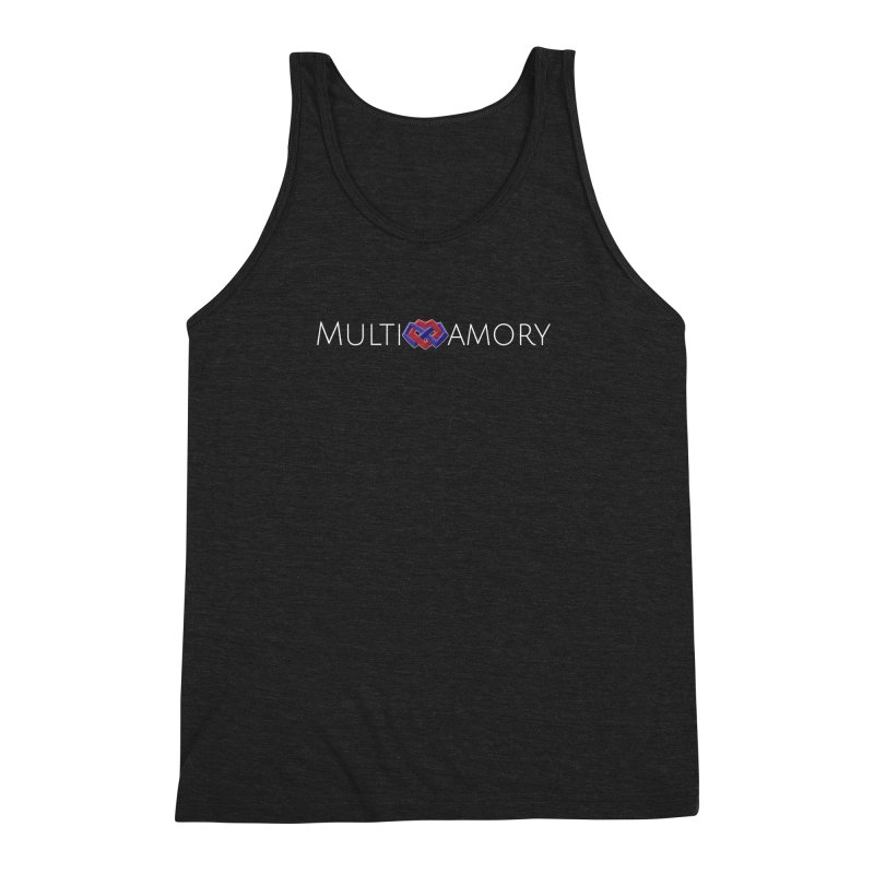 Multiamory Name (White) Men's Triblend Tank by Multiamory's Shop