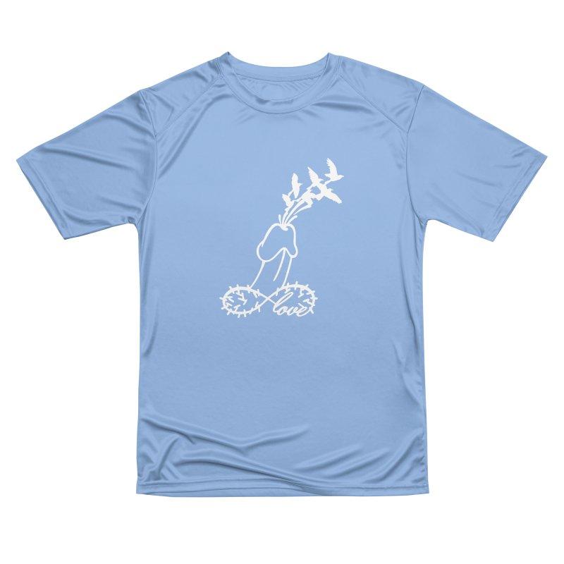 Infinite Murder Love - White Men's T-Shirt by Murder of Crows Nesting Decor Artist Shop