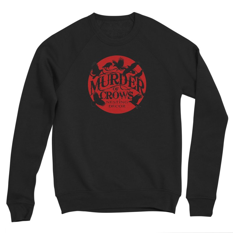 Murder Of Crows Nesting Decor full logo Men's Sweatshirt by Murder of Crows Nesting Decor Artist Shop